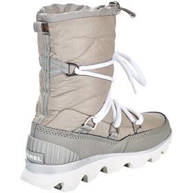 Sorel Kinetic Boots Women Chrome Grey/White